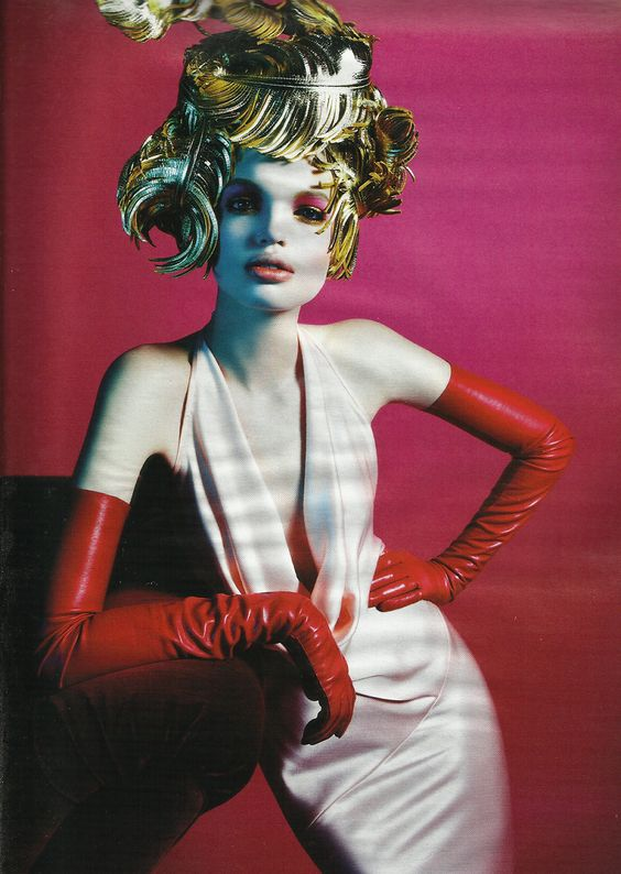 Daphne Groeneveld for W Magazine, March 2012. Photographed by M. Sorrenti and styled by Edward Enninful