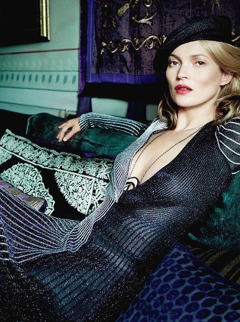 Kate Moss by Mario Testino -