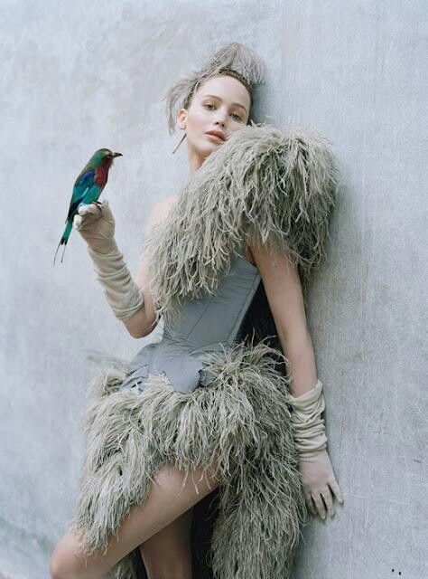 Tim Walker photography of Jennifer Lawrence