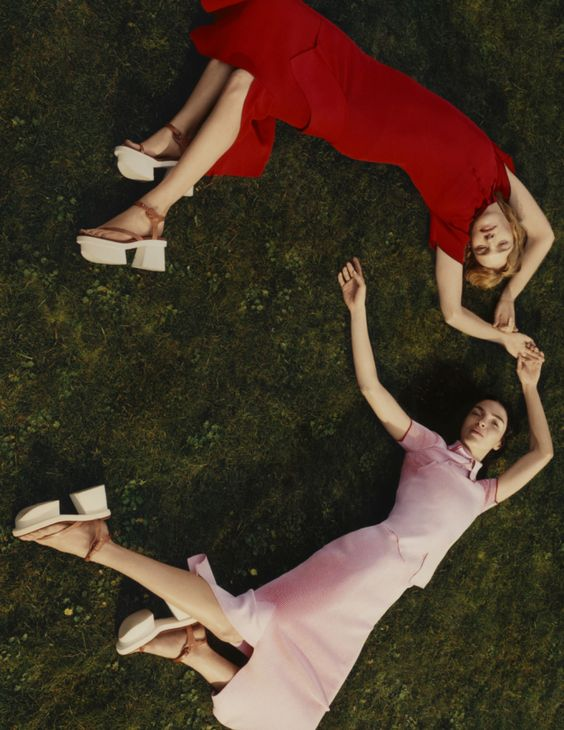 Mariacarla Boscono, Natalia Vodianova by Harley Weir for Stella McCartney Spring Summer 2016