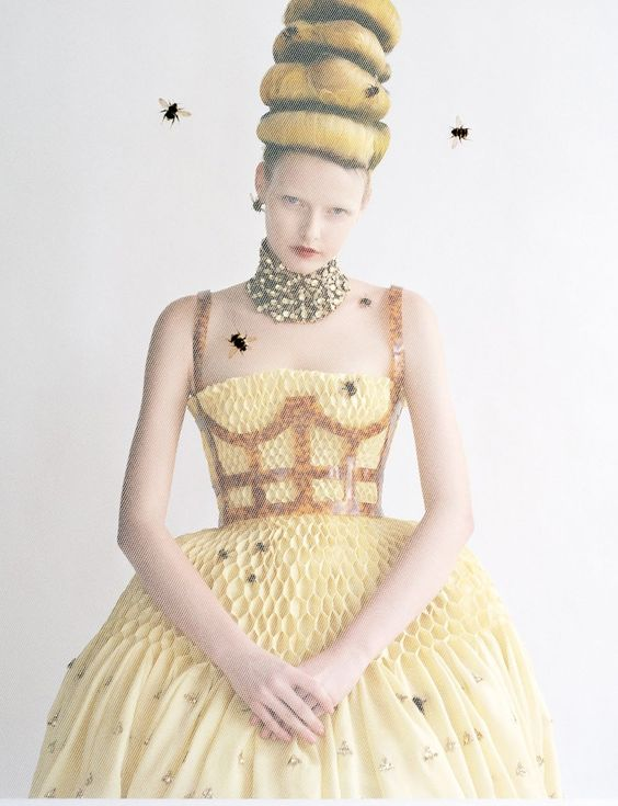 High & Mighty- Elza Luijendijk shot by Tim Walker for Vogue US, March 2013